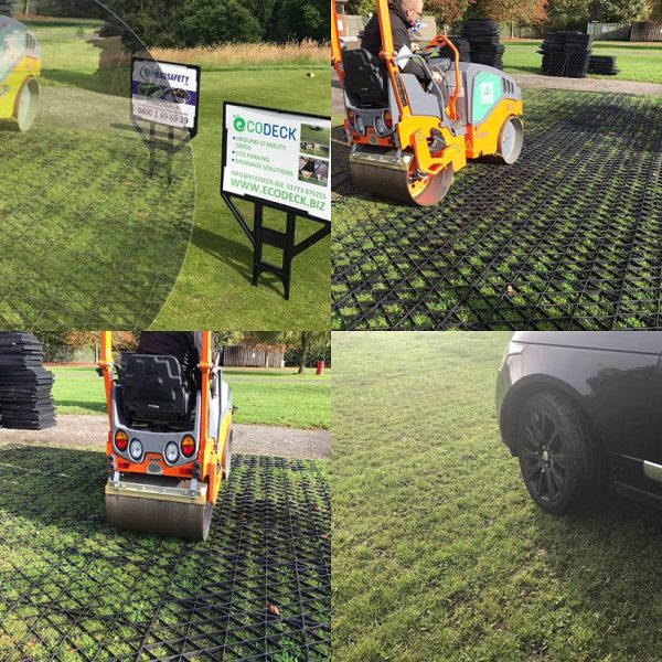 EcoDeck Earth-Press Grass Grids