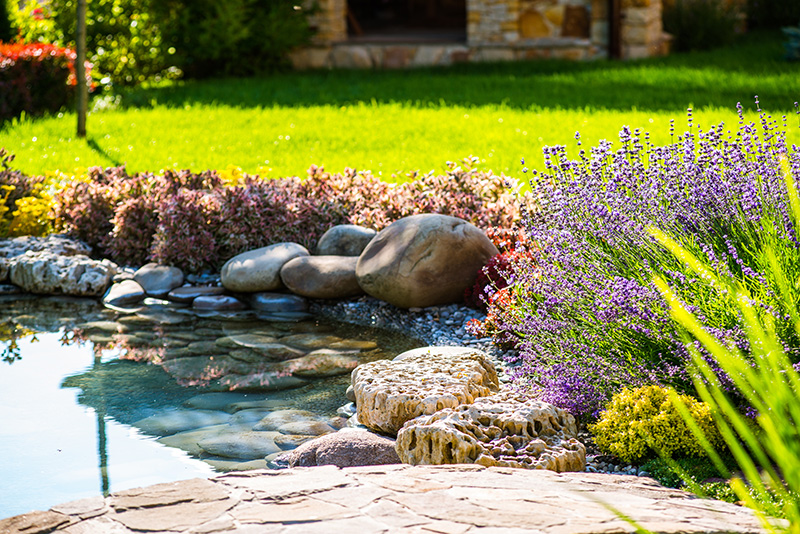 How to Build a Pond Using Ecodeck Products